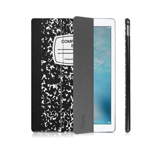Composition And White Cover Ipad Book Black