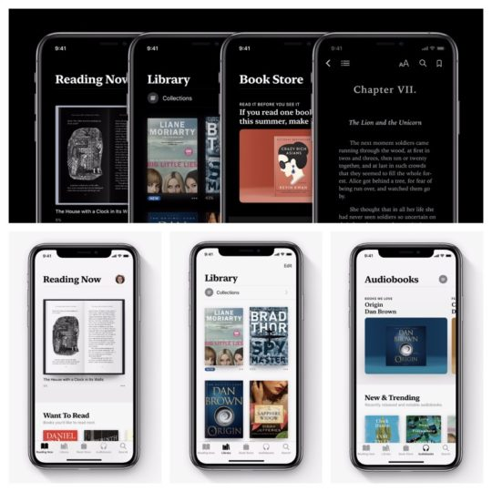Redesigned Apple Books app for iOS offers better library ...