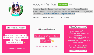 instagram followers, 10 Simple ways to increase your Instagram Followers for your Fashion Business., Fashion Marketing to grow Fashion Business | Ebooks4fashion.com