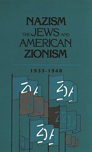 Large book cover: Nazism, The Jews and American Zionism, 1933-1948