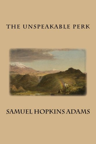 Large book cover: The Unspeakable Perk