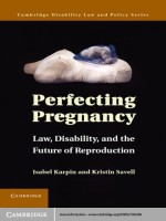 Perfecting Pregnancy: Law, Disability, and the Future of Reproduction