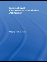 International Commercial and Marine Arbitration (Routledge Research in International Commercial Law)