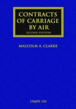 Contracts of Carriage by Air
