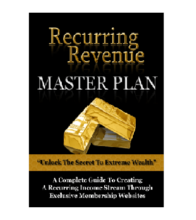 Recurring Revenue Master Plan