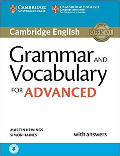 Cambridge English Grammar and Vocabulary for Advanced (Book+Audio)