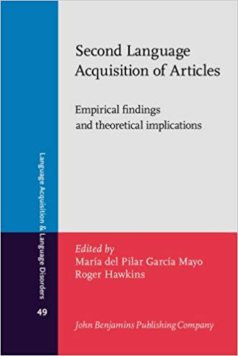 Second Language Acquisition of Articles: Empirical findings and theoretical implications