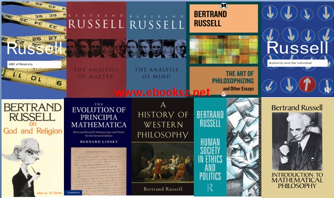 download Bertrand Russell - Philosophical Works and Letters (76 books)