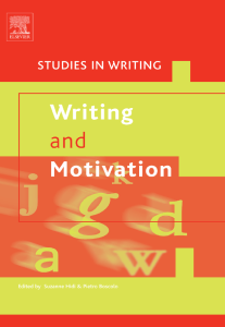 WRITING AND MOTIVATION