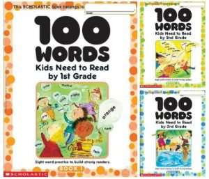 100 Words Kids Need to Read - Grade 1-2-3