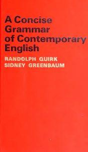 A Concise Grammar of Contemporary English