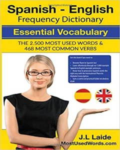 Spanish - English Frequency Dictionary - Essential Vocabulary