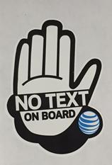 U Drive, U Text, U Pay Campaign