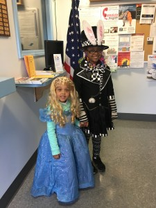 Trick or Treat at the East Bridgewater Police Station
