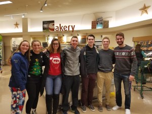 East Bridgewater High School Students Deliver Holiday Meals to East Bridgewater Families