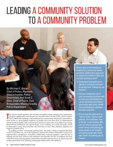Plymouth County Outreach Featured in National Policing Magazine
