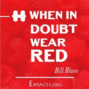 red color quote