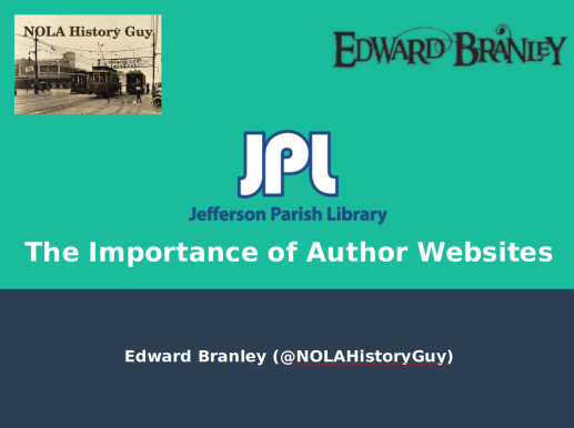 jeff parish library workshop