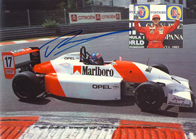 Vincent Radermecker, champion 1993 Formula Opel Euroseries