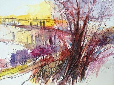 Paesaggio toscano no15 by Alessandro Andreuccetti