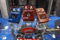 EBS new Red Label Pedals for guitar!
