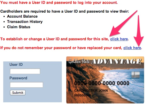 """California EBT Login"""