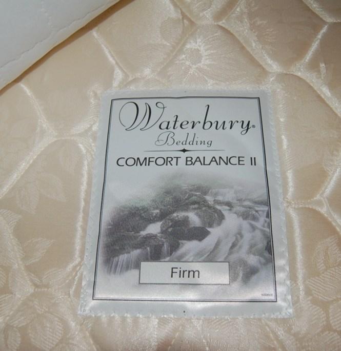 Mattress And Box Springs Waterbury Comfort Balance Ll