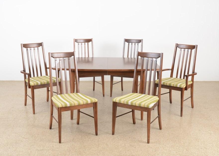 broyhill furniture dining room set circa 1950s