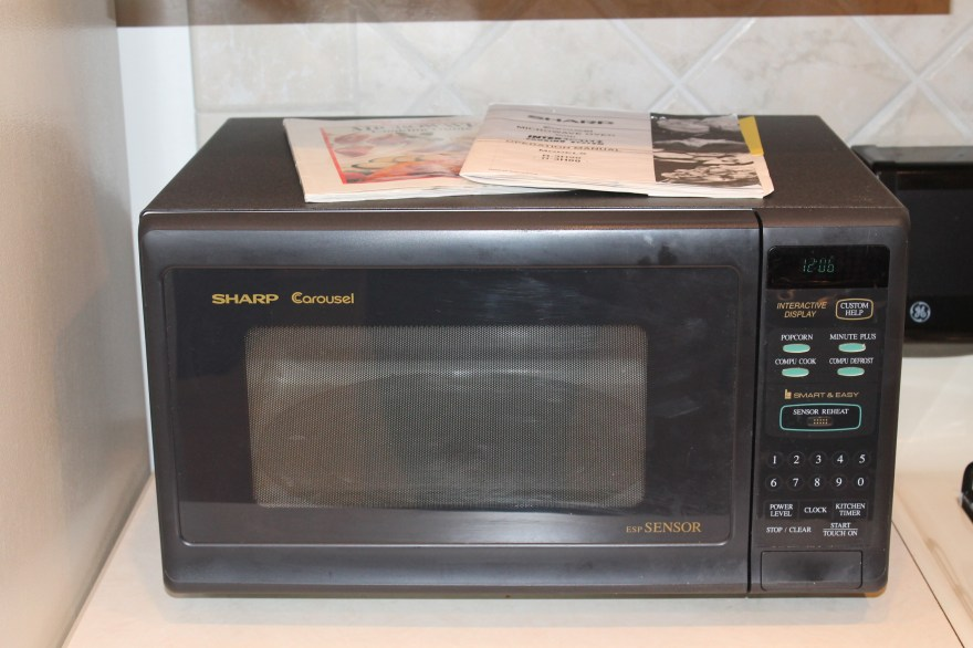 carousel microwave oven by sharp
