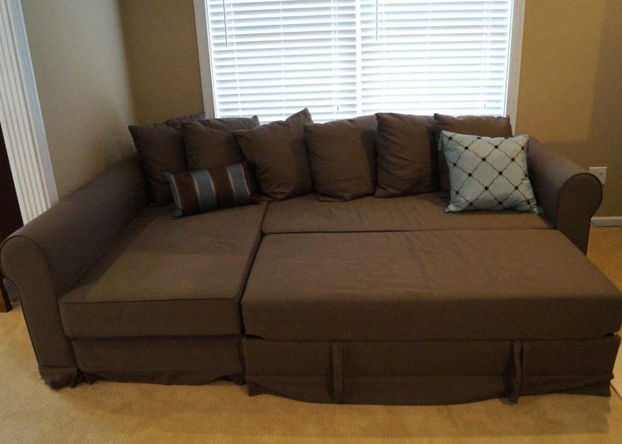 ikea moheda corner storage sofa bed with pull out ottoman Ikea Sofa Bed With Storage id=41679