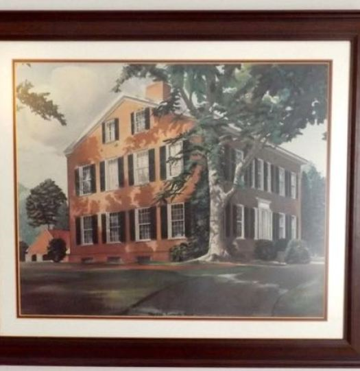 Framed Print Of Larry Frost S My Old Kentucky Home