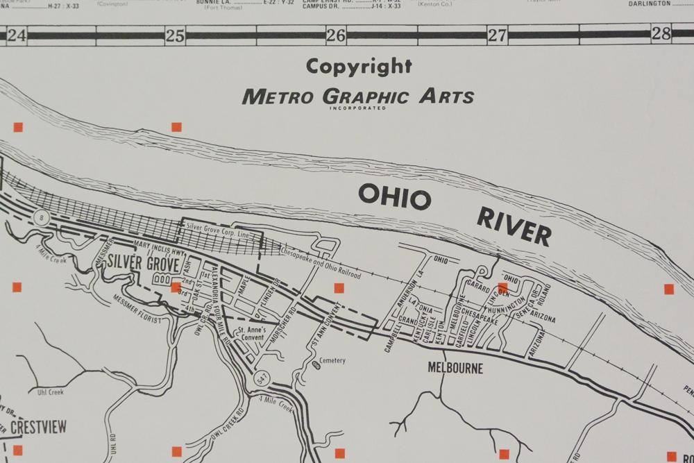 Map Northern Cincinnati