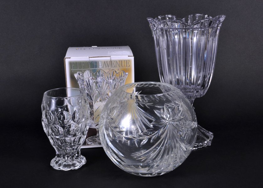 Crystal Vases And Bowls Download Wallpaper Full Wallpapers