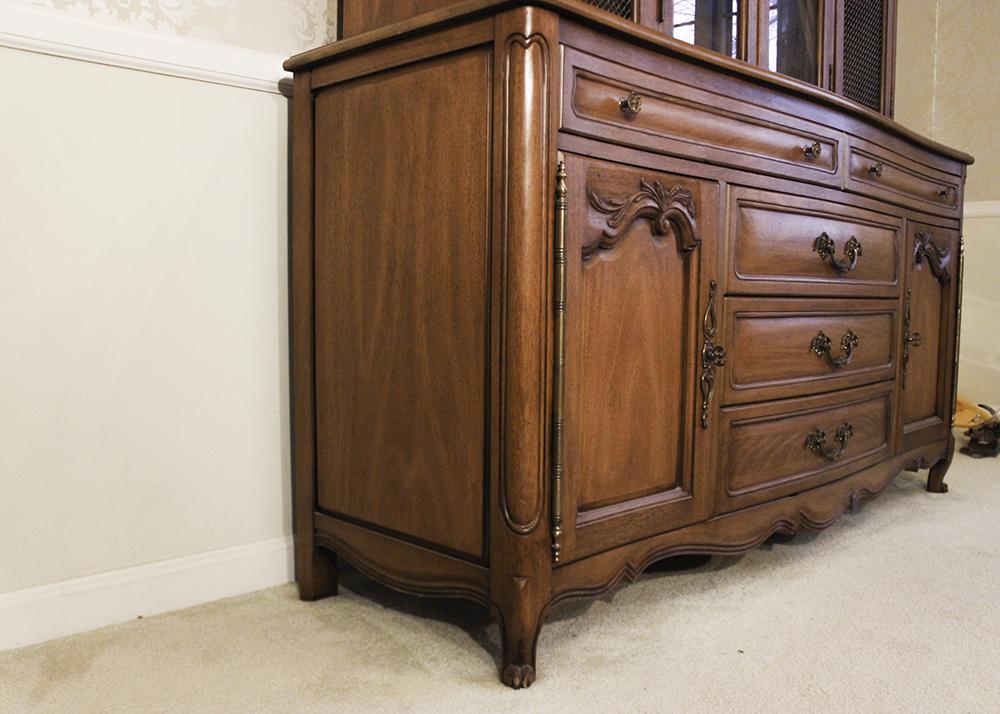 White Fine Furniture China Cabinet Hutch EBTH