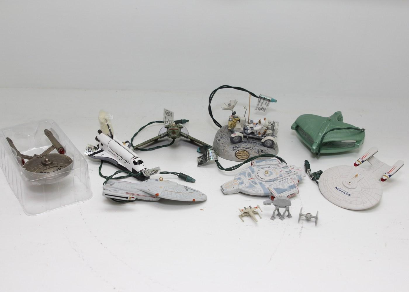 Star Trek, Star Wars and NASA Christmas Ornaments | EBTH