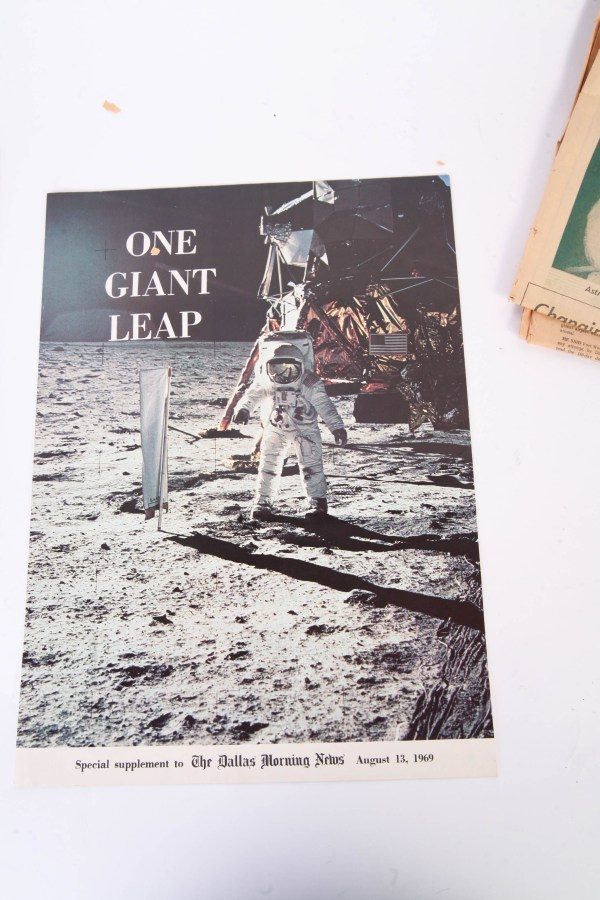 Vintage 1960s and 1970s Newspapers about Space Exploration ...