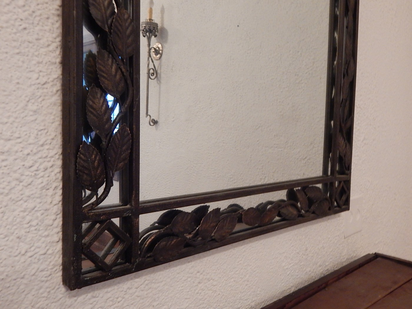 Large Wall Mirror With Metal Frame : EBTH