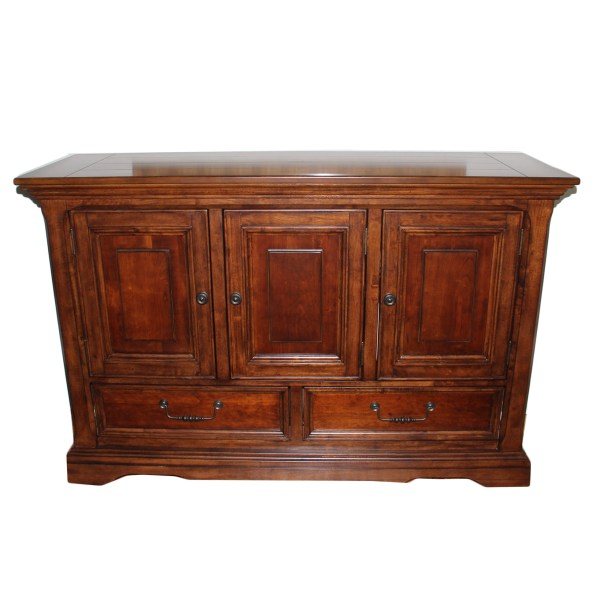 Cherry Stained Buffet By Ashley Furniture EBTH