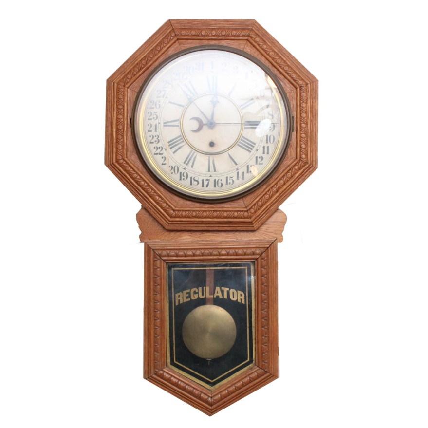 E N Welch Regulator Clock EBTH