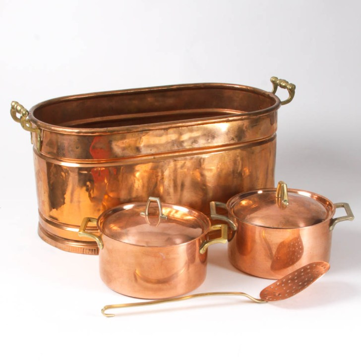 Copper Kitchenware Collection Ebth
