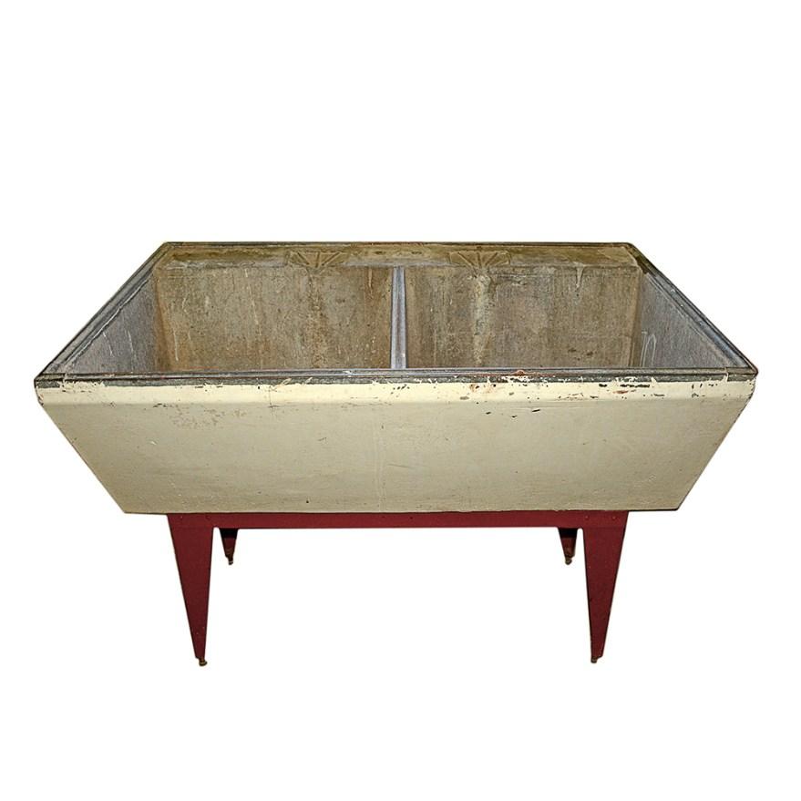vintage soapstone utility sink