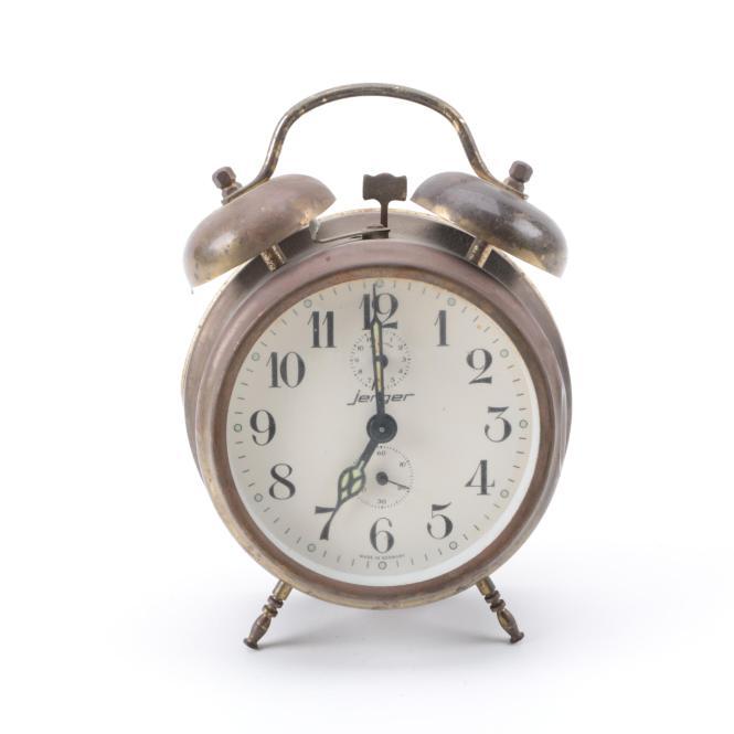 Jerger Alarm Clock | Unique Alarm Clock