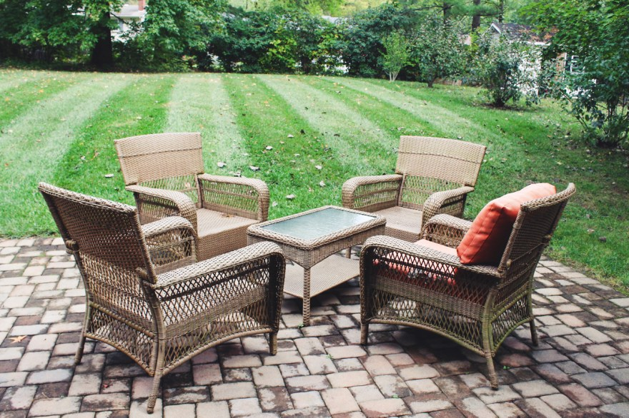 Martha Stewart Living Patio Furniture Set : EBTH on Martha Stewart Wicker Patio Set id=20714
