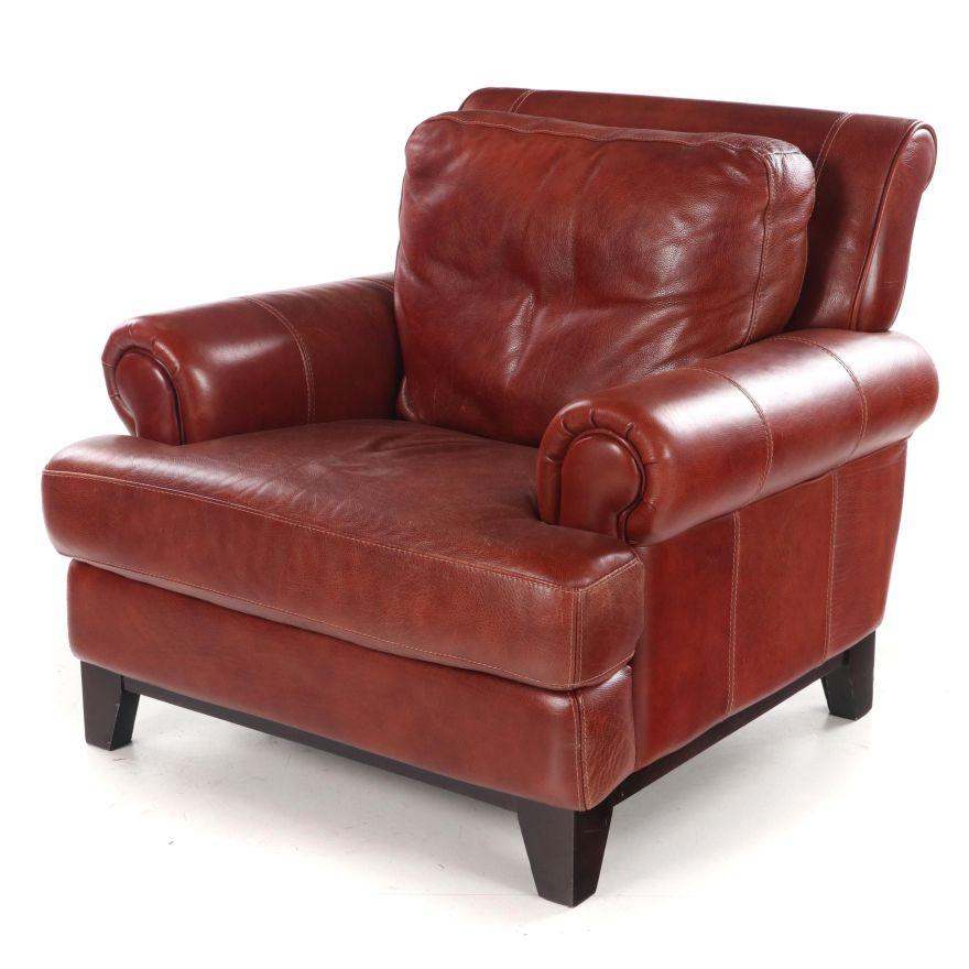 133, camere da letto, mobili soggiorno, letto Divani Chateau D Ax Italian Leather Armchair Ebth
