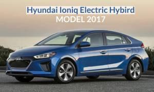 Hyundai Ioniq Electric Hybird Model 2017
