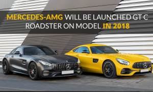 Mercedes-AMG Will Be Launched GT C Roadster Model In 2018
