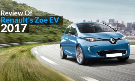 Review Of Renault's Zoe EV 2017