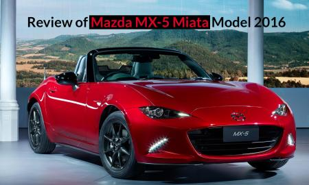 Review of Mazda MX-5 Miata Model 2016