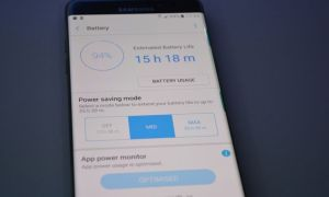Save Battery On Android Smartphones with Using Battery Saver Mode