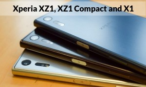 Sony's New Xperia XZ1, XZ1 Compact and X1 With Specifications